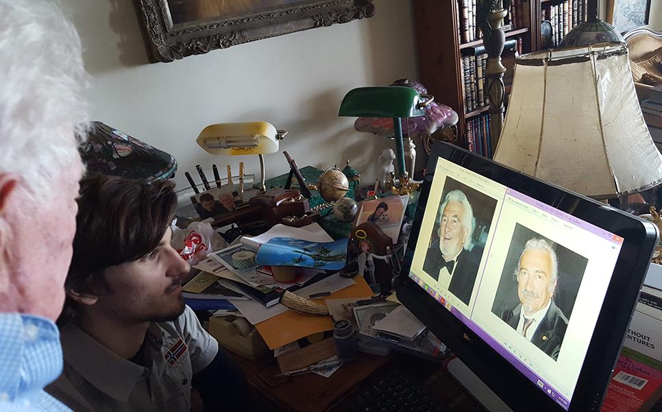 Linkow chiede a Massimiliano Tramonte di caricargli sul desktop le foto di Stefano e Silvano Tramonte